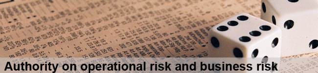 authority on operational risk and business risk
