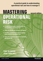 Mastering Operation Risk book cover