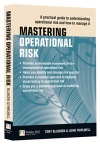 Mastering Operation Risk book cover by John Thirlwell